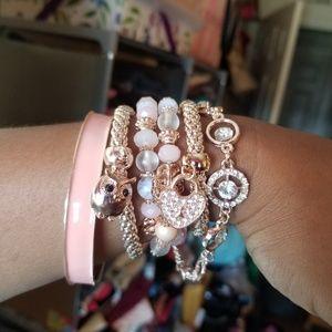 New Rose Gold Bracelet set